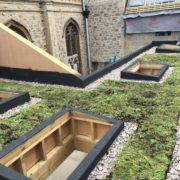 Sedum Roof for Methodist Church